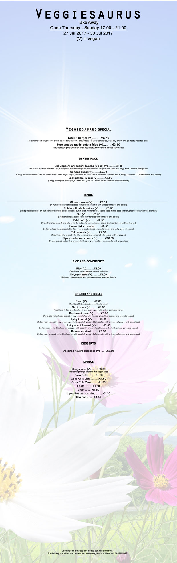 Combined-menu